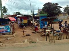 Street Market Scene, Sogakofe, Volta, Ghana. #JujuFilms (Jujufilms) Tags: streetmarketscene sogakofe volta ghana jujufilms bread streetfood marketscene jujufilmstv photography people photojournalism