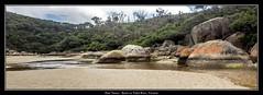 Tidal River Rocks Victoria Australia Wilson's Prom (tsmpaul) Tags: victoria australia canon eos600d kissx5 rebelt3i tidalriver rocks wilsonsprom