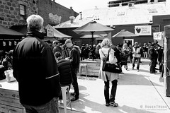 20161023-01-Tasmanian Farm Gate market randoms (Roger T Wong) Tags: 2016 australia bw hobart rogertwong sel2470z sony2470 sonya7ii sonyalpha7ii sonyfe2470mmf4zaosscarlzeissvariotessart sonyilce7m2 tasmania tasmanianfarmgate blackandwhite market mono monochrome people stalls