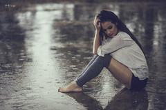 Like tears in rain (maikel_nai) Tags: girl model rain brunette n4i n4ies bendingover reflections shorts heaters canon5d 85mm rainyday 2016 redlips darkeyes pools puddles doshermanas2016doshermanasjaviervelajesicalpezbajolalluviacalentadorescamisablancacamisetablancachaquetavaquerademinflashgrafittislabiosrojoslluviamaquillajecorridoparaguassesinshortstrasparenciasvaquerosvestidoamarill