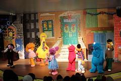 Sesame Place: A Sesame Street Christms Show (wallyg) Tags: asesamestreetchristmasshow abbysparadisetheater amusementpark buckscounty langhorne pennsylvania sesameplace sesamestreet show themepark bigbird bert ernie cookiemonster elmo thecount abbycadabby zoe