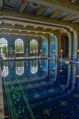 Roman Pool II (59roadking - Jim Johnston) Tags: ifttt 500px hearst castle california travel san simeon mansion pool wealth blue