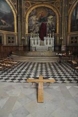Vendredi saint (glise Saint-Eustache) Tags: vendredisaint triduumpascal sainteustache glise paris quartierdeshalles chapelle peinturemurale