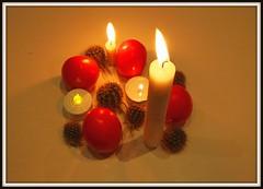 Advent (Rolf Brecher) Tags: rolfbrecherberlin advent kerze adventskranz