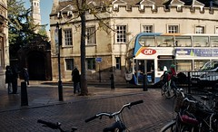 Stagecoach Bus Fleet 19603: Cambridge City Centre (Mike Cook 66) Tags: nikonf50 nikonfilmcamera 35mm fujicolorfilm scanner epsomv550 stagecoach feet19603 ae106xr cambridge citi citycentre film nikon28mmlens hobsonstreet alexander trident2 adlenviro400