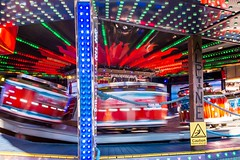 Spinning Red Chairs (Paul Griffiths Photos) Tags: ifttt 500px fairground fair carnival fun ride festival uk light lights merrygoround red england city