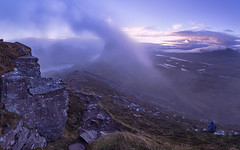 The Mist Watcher (J McSporran) Tags: scotland highlands westhighlands northwesthighlands suilven meallmeadhonach mist mountains morningmist landscape canon6d ef1635mmf4lisusm