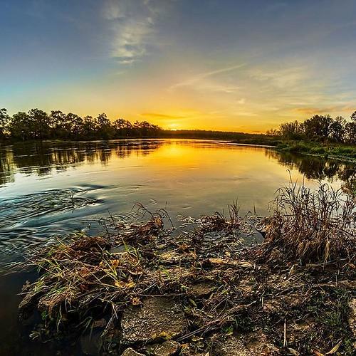 #odra #river near #nowasol 🌅 #sun #sunrise #photooftheday #amazing #colorful