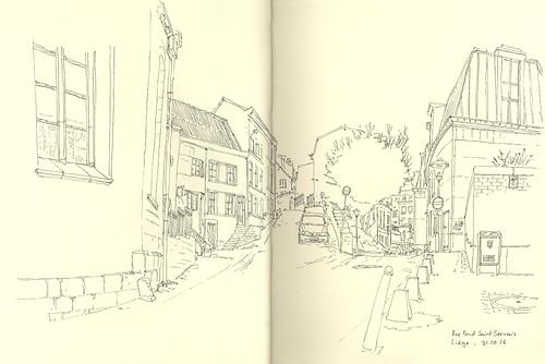Rue Fond Saint-Servais - Liège