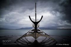 Sólfar (l3v1k) Tags: ifttt 500px sculpture travel iceland reykjavík sólfar sun voyager jón gunnar árnason dreamboat viking ship kristinn e hrafnsson sigurjón yngvason reynir hjálmtýsson weberwellendorf