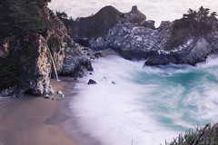 McWay Falls, November 2016 #2 (satoshikom) Tags: canoneos60d canonef1635mmf28liiusm ndx16 juliapfeifferburnsstatepark mcwayfalls californiastateparks californiacoast hw1 weekend beach