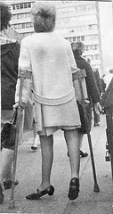 60s Polio Girl (jackcast2015) Tags: handicapped disabledwoman crippledwoman paralysed poliogirl infantileparalysis polio crutches