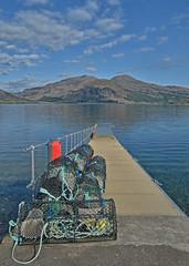 Creels on the Jetty.. (Harleynik Rides Again.) Tags: jetty pier creels glenelg isleofskye kylerhea scotland westcoast westernisles harleynikridesagain explore inexplore