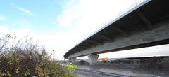 still under construction the new mersey gateway bridge. (Barry Miller _ Bazz) Tags: sigmaex dg canon5dmark3 bridge 1224 widnes halton runcorn merseygate way river crossing truc construction site