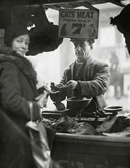 #Cats Meat Seller in London, 1933 [564x727] #history #retro #vintage #dh #HistoryPorn http://ift.tt/2gLWc6x (Histolines) Tags: histolines history timeline retro vinatage cats meat seller london 1933 564x727 vintage dh historyporn httpifttt2glwc6x