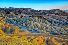 Zabriskie Point (KPortin) Tags: zabriskiepoint deathvalleynationalpark geology erosion mountains landscape desert sunset