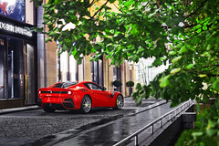 Excellence.F12 TDF (Ivan_Orlov) Tags: car cars supercar supercars sportcar speed summer spotting design dubai russia red exotic exclusive rosso corsa carspotting canon carphoto carinstagram carsthatyoulike color carswithoutlimits carlifestyle city photo photography power photocar 2016 ferrari ferrarimoscow ferrarimotorsport flickrcar f12 tdf night top amazingcars247 ivan instagram orlov perfect