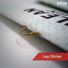 Types of Book Binding-Loop Stitched (SirSpeedyIndore) Tags: bookbinding ser loopstitched sirspeedy