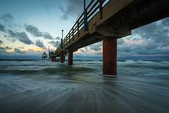 Morgenstimmung am Steg (Lukas Voegelin) Tags: landscape landschaft zingst ostsee deutschland germany beach strand travel sony a7ii
