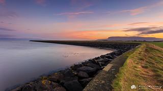 Sea Wall Sunrise.