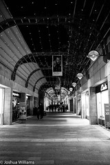 DSCF9701 (Joshua Williams' Photography) Tags: jerusalem israel bw night oldcity