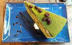Green Tea Cake (Dex) Tags: cake cheesecake dessert green greentea food pastry yummy