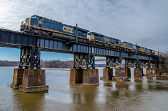 (i nikon) Tags: csx browns island james river viaduct richmond va