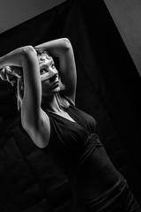 IMG_7720 (photo.bymau) Tags: bymau canon 7d studio portrait retrato girl beauty woman women nice cute model flash light shooting beautifull faces art éclairage lightning bw black white blanc noir negro schwarz dark contrast mono monochrome schwartz sepia masque carnaval lou loup venise