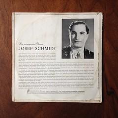 Backside Die unvergessene Stimme - Josef Schmidt, Odon M 33 OLA 1008, 10 inch (Piano Piano!) Tags: dieunvergessenestimmejosefschmidt odonm33ola1008 10inch