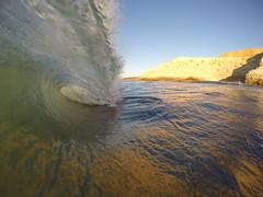 Gull Rock, South Australian reefbreak (Lincoln Frank Allen) Tags: surfing swell gopro fisheye landscape surfphotography