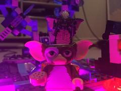 Gizmo and Stripe (splinky9000) Tags: kingston ontario christmas day 112516 lego dimensions toys video game gremlins gizmo stripe mogwai gremlin minifigure cookie