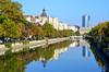 Boekarest, stadszicht nabij het paleis van Nicolae Ceaușescu, Roemenië 2016 (wally nelemans) Tags: bucurești boekarest stadszicht roemenië romania 2016 s