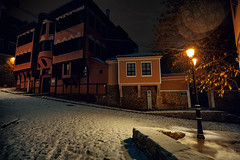 old-town snow night (dontgiveacake) Tags: plovdiv snow night old town tepe bulgaria