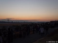 Itami Sky Park 2017.1.1 (1) before dawn (double-h) Tags: omdem10markii mzuikodigitaled1442mmf3556ez rjoo itm osakaairport itamiairport 大阪空港 伊丹空港 airplane 飛行機 伊丹スカイパーク itamiskypark