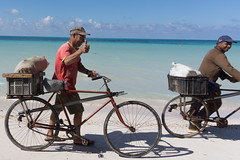 Cayo Jutias, Cuba (Quench Your Eyes) Tags: caribbean beach bicyclist biketour cayojutias cuba cuban cyclist island nature sand santalucia sun town travel