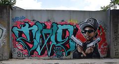 Veans  •  Lask (HBA_JIJO) Tags: streetart urban graffiti art france hbajijo wall mur painting letters peinture lask lettrage twecrew lettres lettring writer paris93 spray panorama twe