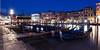 Rialto Impressionen (SteffPicture) Tags: fluss kanal langzeitbelichtung spiegelung stadtansicht tourismus venezien wasser steffpicture venedig canal canalgrande stadt szene gondelieri gondola architektur skyline hafenviertel outdoor gebäude gebäudekomplex rialto brücke sehenswürdigkeit blauestunde blue bluehour
