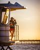 Watchful Eye (nixter) Tags: california sunset beach sandiego lifeguard oceanbeach cheers cheers2 chuck1 chuck2 chuck3 chuck4 cheers3 cheers4 cheers5 cheers6 cheers7 chuck5