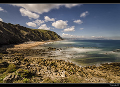 Mar adentro XLI (Pogdorica) Tags: paisaje nubes vizcaya rocas maradentro filtrond elexalde costavizcaina playabarrika