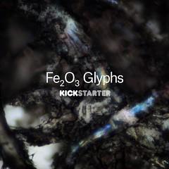 Fe2O3 Glyphs (linden.g) Tags: typography letterpress glyphs ferrofluid kickstarter fe2o3 craigward lindengledhill
