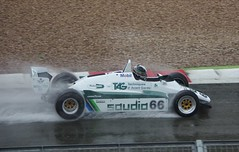 1982 Williams FW08 (Dave Hamster) Tags: classic wet 1982 williams f1 racing 66 historic silverstone formula1 motorracing fia motorsport autosport 2015 silverstoneclassic williamsfw08 fw08 fiamastershistoric