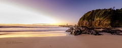 Scott Whiteman Jones Beach Pano (Scott Whiteman) Tags: ocean beach sunrise coast nikon rocks cathedral south nsw southcoast kiama cathedralrocks kiamadowns nikonlife d7000 nikond7000 visitnsw