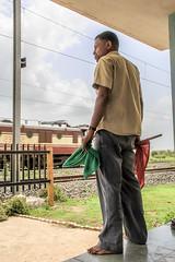 Lakkadkot. Fatak. (smit. (a soul so gypsy)) Tags: street red india man green art train wow rail master stop illusion maharashtra gujarat 2015 indianrail gujarati lakkadkot