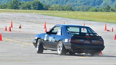 Tail happy... (bethelparkbobb_o) Tags: car race speed airport tour cone spin fast slide tires driver autocross racer horsepower skill