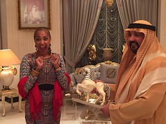 Amanda Seales with His Excellency (9) (suhailalzarooni) Tags: amanda with his excellency seales