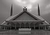 Faisal Mosque Symmetry (alizahoorphotography) Tags: pakistan lines architecture vanishingpoint geometry mosque symmetry punjab islamabad rawalpindi
