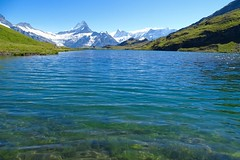 Bachalpsee,Grindelwald,Switzerland (fatimahashrafkhan) Tags: summer lake alps nature landscape photography switzerland walk famous places grindelwald bachalpsee bbctravel travel2015