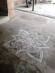 kolam (thisnamenotalreadytaken) Tags: culture tradition diwali tamil kolam tamilan