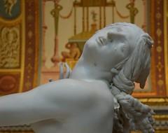 Galleria Borghese (dallapozzachiara) Tags: italy white roma art face museum italia arte sculture museo tear bernini bianco viso tatto proserpina pathos scultura rapimento dolore marmo lacrima volto figlia sofferenza