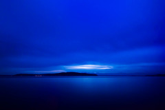 McNeil Island (llabe) Tags: blue night washington nikon pugetsound steilacoom ndfilter d610 sunnysidebeach mcneilisland bw10stopndfilter